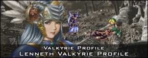 Valkyrie Profile - Lenneth Valk Character Profile