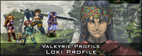 Valkyrie Profile - Loki Character Profile